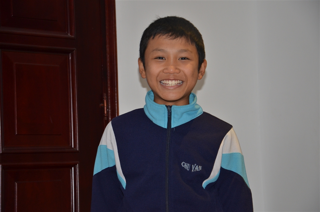 N. received tutoring for a year and is doing much better in school!